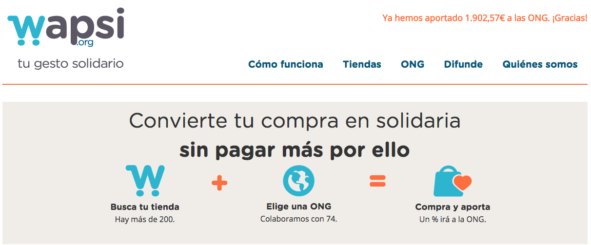 e-commerce solidario