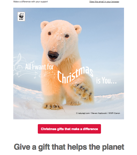 mail marketing wwf-microdonativos